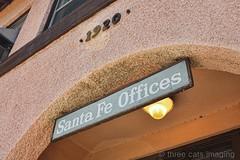 Santa Fe Offices - Clovis, NM (three cats imaging) Tags: newmexico railway depot clovis bnsf topaz threecatsimaging