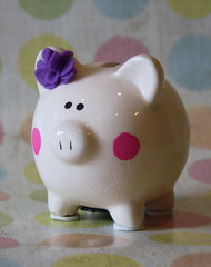 Dolled up piggy up