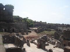inside janjira fort (ganuullu) Tags: sea india fort historic maharashtra inside raigad indianhistroy fentastic