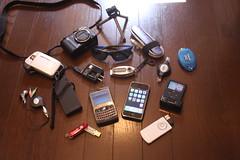 My business trip gadgets (digitalbear) Tags: trip apple japan tokyo ipod business gadget iphone