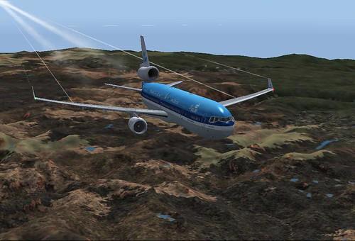 KLM towards KSEA