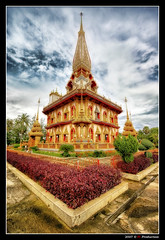 Wat Chalong @ Phuket (Thailand) (Eric Rousset) Tags: voyage travel sky clouds photoshop thailand temple photography reflex asia raw cs2 sony religion sigma wideangle thalande ciel adobe asie bec phuket 1020mm wat nuages buddism hdr highdynamicrange photomanipulated 2007 watchalong bpp postprocessing themoulinrouge photomatix sigma1020 supershot magicdonkey tonemapping flickrsbest alpha100 mywinners abigfave sonydslra100 platinumphoto anawesomeshot colorphotoaward aplusphoto flickrplatinum infinestyle goldenphotographer diamondclassphotographer flickrdiamond megashot bratanesque theunforgettablepictures colourartaward theperfectphotographer thegardenofzen theroadtoheaven piproduction mailciler ericrousset ericroussetphotography
