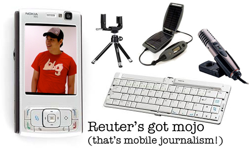 Reuter's Got Mojo (that's mobile journalism)