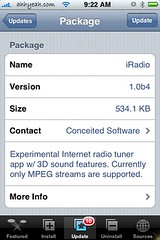 iRadio Update 1.0b4
