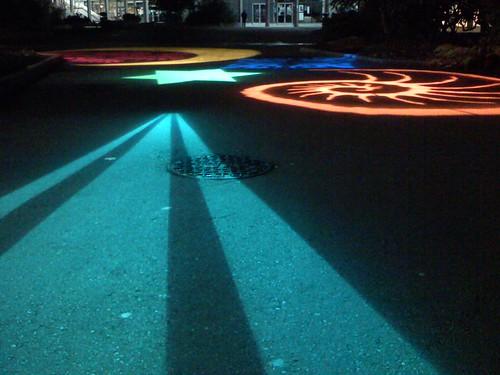 low angle lights