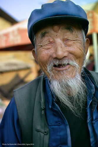 Old man in Village #2