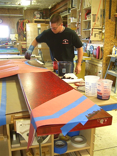Dyeing Small Door