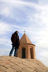 ...!!! (matiya firoozfar) Tags: roof church girl canon persian friend cross iran emotion competition persia explore iranian  esfahan isfahan   highestpoint  khorshid mahdieh iranianwomen    matiya  matiyafiroozfar    firoozfar   400d   garigurschurch