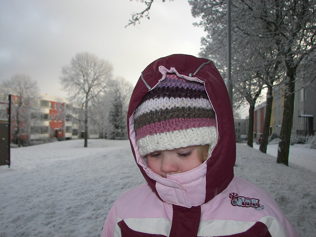 H in the snow