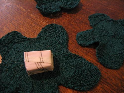 lilypad washcloths 1
