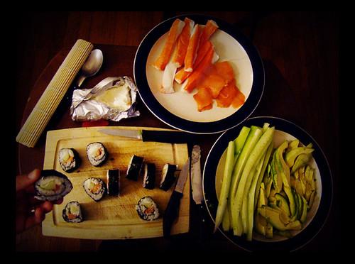 Day 84 - making sushi