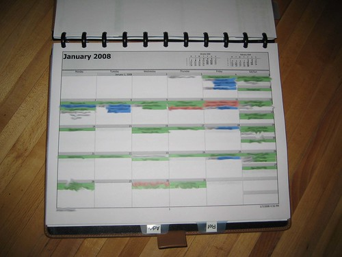 Monthly Calendar Book Monthly Calendar Circa