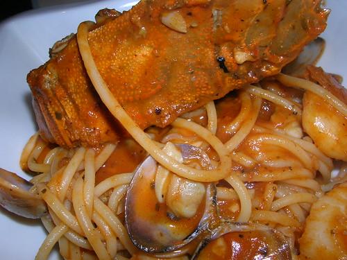 Bakerzin seafood pasta