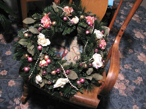 guest room wreath