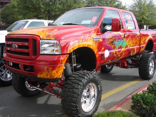 ford truck 4x4 custom f350