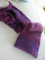My So-Called Scarf in progress