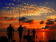 Feeling Lucky!! (i b u) Tags: red sea clouds fire fishing asia skies scenic silhouettes 123 321 pole peoples lucky abc oranges ibrahim maldives ibu rods soe feelings susnet outdoorphotography saarc fishemen twtme maldivianphotographer maldivianphotography abigfave vfxy anawesomeshot superbmasterpiece diamondclassphotographer ibumohd ibuphotoscom maldivesibusadventure maldivesphotography ibuphotographycom geomaldives ibuibrahimmohd photoblogaward ibphotographycom maldivesphotographer
