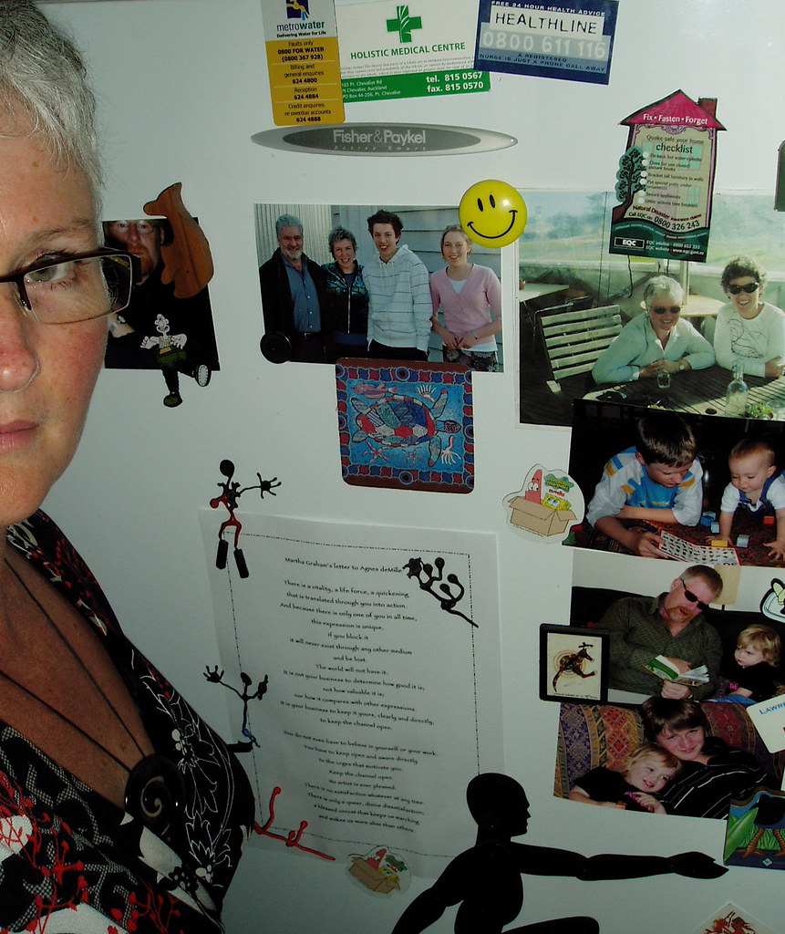 Day 42 The inspirational fridge!
