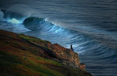 Storm Surf: Of Man and Nature (gcquinn) Tags: ocean california travel favorite storm west beach colors composition spectacular point landscape this interestingness big cool interesting scenery flickr surf waves break place pacific very good geoff awesome marin diversity wave visit surfing special adventure explore most 200 views winner stunning quinn planet headlands pro rodeo strong 100 300 geology 500 geoffrey northern incredible indo 1000 extraordinary comments excellence faved rated colorphotoaward superbmasterpiece ysplix amazingamateur theunforgetablepictures theunforgettablepictures betterthangood lesamisdupetitprince