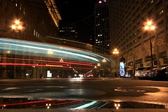 Market Street Light Trail (A Sutanto) Tags: sf sanfrancisco california ca city light urban usa bus cars night america traffic marketstreet lighttrail goldstaraward