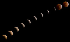 Lunar Eclipse, 20th February 2008 (Cameron Booth) Tags: shadow usa moon composite night oregon 1025fav wow portland eclipse timelapse or unitedstatesofamerica luna lunareclipse rockybutte totaleclipse twtmeblogged