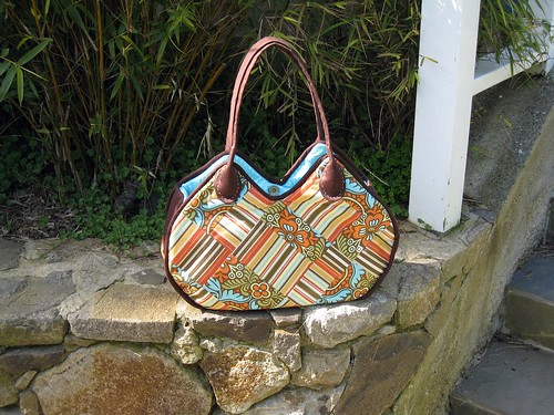 amy patchwork day bag