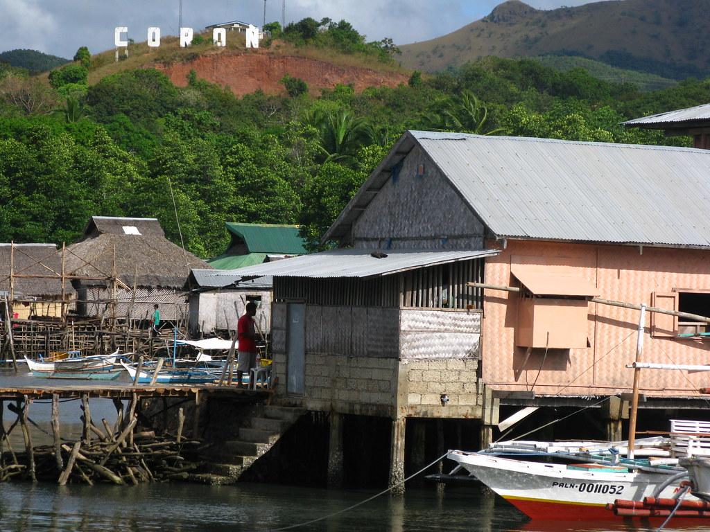 Busuanga Coron Town Philippines