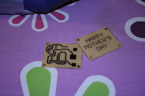 Making PCBs at home, Attempt 2: Fully etched