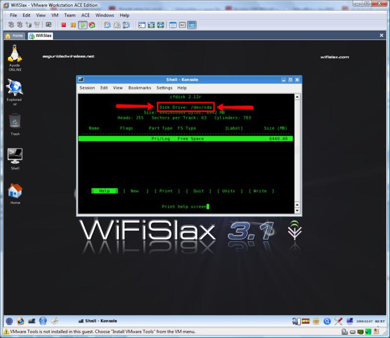 Imprimir P�gina - manual WifiSlax sobre Windows Vista