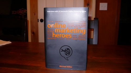 Online Marketing Heroes book featuring Ed Shull