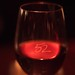Seasons 52: etched wine glass