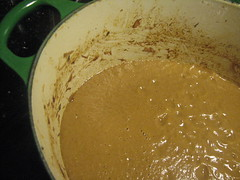 Pureed Vegetable Sauce for Oxtail Asturiana