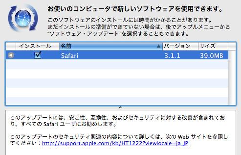safari 3.1.1