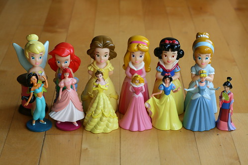 Dova's Disney Princess collection