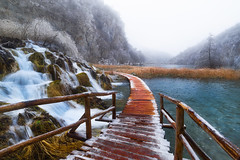 A Heavenly Place (Croosterpix) Tags: plitvice croatia lakes water waterfall nature landscape winter frozen nikond610 nikkor1835