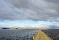 Road to Hindø (Jaedde & Sis) Tags: hindø vanishing road island waterscape friendlychallenges storybookwinner clouds fotocompetitionbronze fotocompetition fotobronze perpetualwinner challengeyouwinner gamewinner