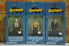 Haul from down under: Commissioner Gordon, Ra's Al Ghul & Alfred