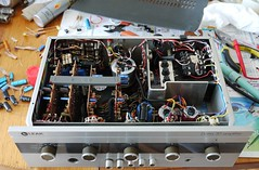 leak delta30a (nikleitz2009) Tags: sonora radio vintage tsf tube leak valves hifi solidstate tuberadio vintagehifi
