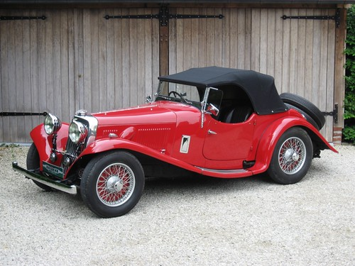 Aston Martin 2 Litre 15/98 Short Chassis 2/4 Seater Sports.