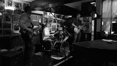 Black Cat at the Stonewell Tavern, June 2011 by Phil Haygarth