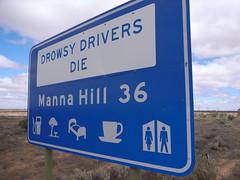 Drowsy Drivers Die!!