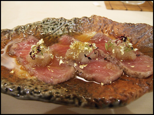 Urasawa (Los Angeles - Seared toro