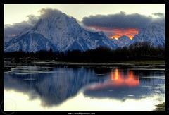 The very last light (Arnold Pouteau's) Tags: sunset reflection night wyoming mountmoran grandteton oxbowbend october20 diamondclassphotographer flickrdiamond