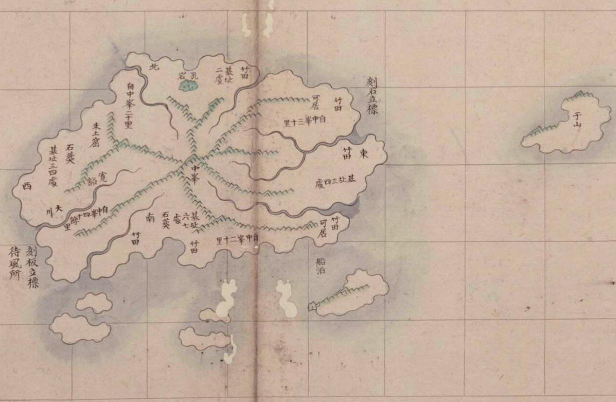 1750 ~ 1768 -Joseonjido_Gangwondo_Ulleungdo