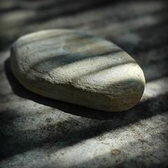 Still Simple (Yorick...) Tags: light photo bokeh stones stripes shades textures zen texure simplepleasure blueribbonwinner artlibre superbmasterpiece diamondclassphotographer flickrdiamond