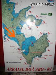 Mapa de Arraial