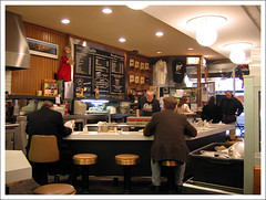 Lou Mitchell's interior