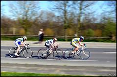 Criterium 3 (Alexandre LAVIGNE) Tags: france sport photography competition course cycle vlo criterium picardie cyclistes aisne coureur saintquentin rtbf panasonicdmcfz50 effetfil engival louisengival
