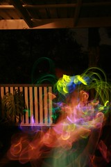 Christmas Glowstick Fun #2