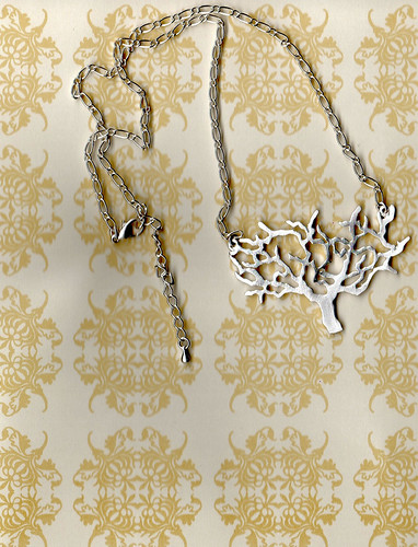Twisting Tree Necklace
